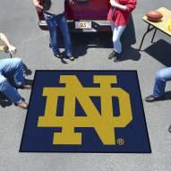 """Notre Dame Fighting Irish """"ND"""" Tailgate Mat"""