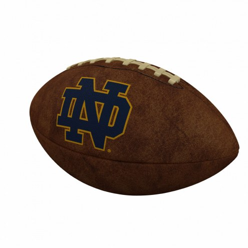 Notre Dame Fighting Irish Official Size Vintage Football