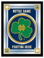 Notre Dame Fighting Irish Shamrock Logo Mirror