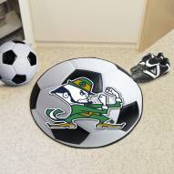 Notre Dame Fighting Irish Soccer Ball Mat