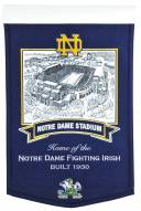 Notre Dame Fighting Irish Stadium Banner