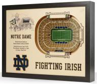 Notre Dame Fighting Irish 25-Layer StadiumViews 3D Wall Art