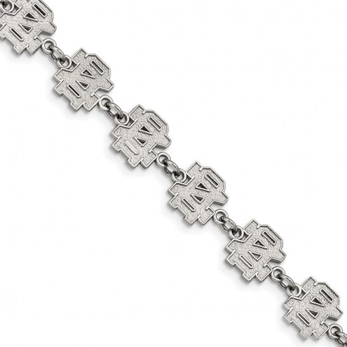 Notre Dame Fighting Irish Stainless Steel Logo Bracelet