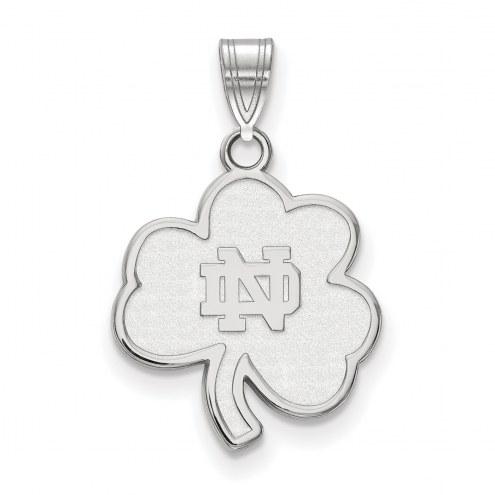 Notre Dame Fighting Irish Sterling Silver Medium Pendant