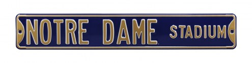 Notre Dame Fighting Irish Street Sign