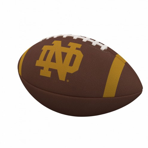 Notre Dame Fighting Irish Team Stripe Official Size Composite Football