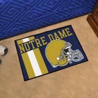 Notre Dame Fighting Irish Uniform Inspired Starter Rug