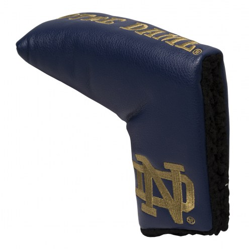 Notre Dame Fighting Irish Vintage Golf Blade Putter Cover