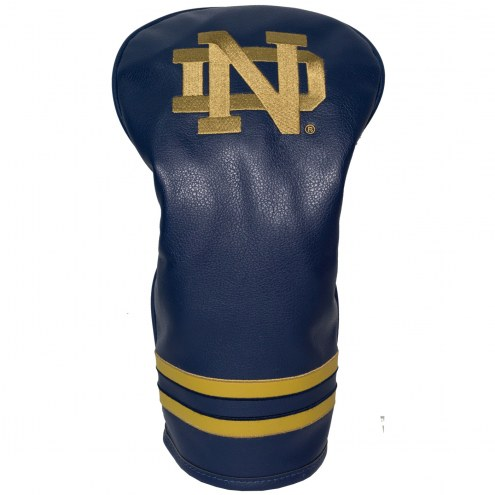 Notre Dame Fighting Irish Vintage Golf Driver Headcover