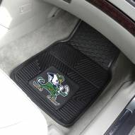 Notre Dame Fighting Irish Vinyl 2-Piece Car Floor Mats