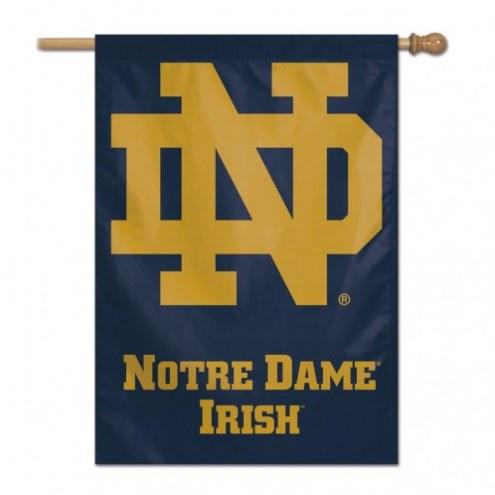 """Notre Dame Fighting Irish 28"""" x 40"""" Banner"""