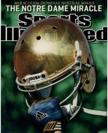 Notre Dame Sports Illustrated Cover w/ Helmet 16 x 20 Photo