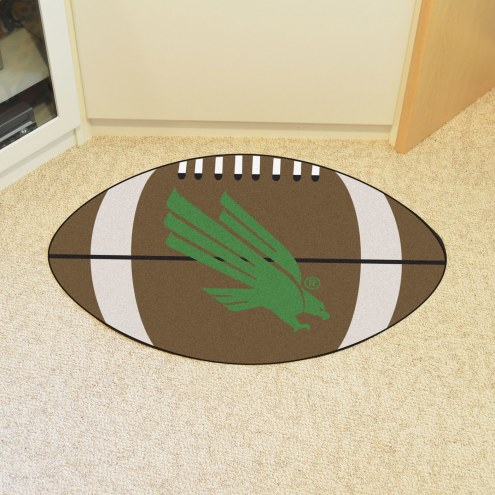 North Texas Mean Green Football Floor Mat