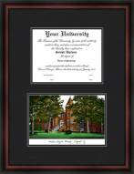 Northern Arizona University Diplomate Framed Lithograph with Diploma Opening
