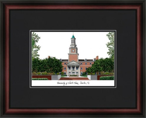 University of North Texas Academic Framed Lithograph