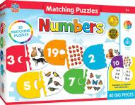 Numbers Educational Matching Puzzle