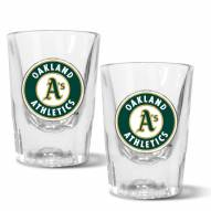 Oakland Athletics 2 oz. Prism Shot Glass Set