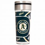 Oakland Athletics 22 oz. Hi Def Travel Tumbler