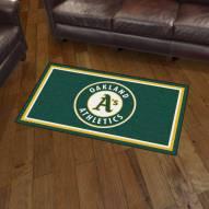 Oakland Athletics 3' x 5' Area Rug