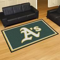 Oakland Athletics 5' x 8' Area Rug