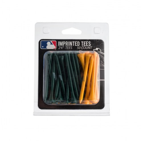 Oakland Athletics 50 Golf Tee Pack