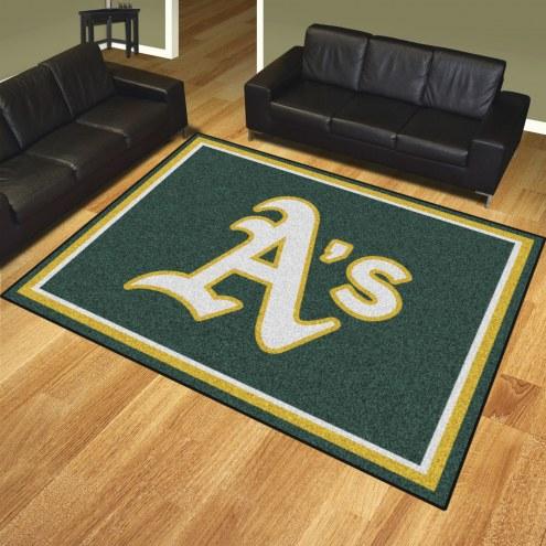 Oakland Athletics 8' x 10' Area Rug