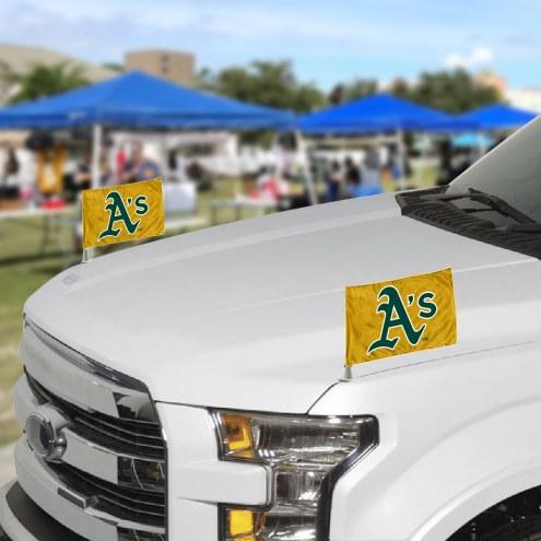 Oakland Athletics Ambassador Car Flags