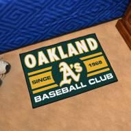 Oakland Athletics Baseball Club Starter Rug