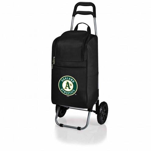Oakland Athletics Black Cart Cooler