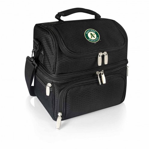 Oakland Athletics Black Pranzo Insulated Lunch Box