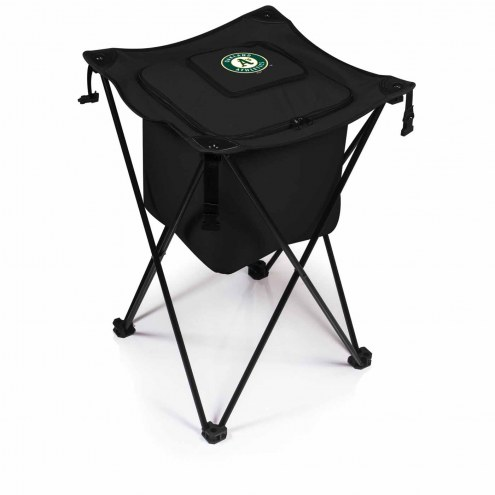Oakland Athletics Black Sidekick Portable Cooler