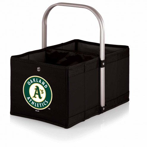 Oakland Athletics Black Urban Picnic Basket