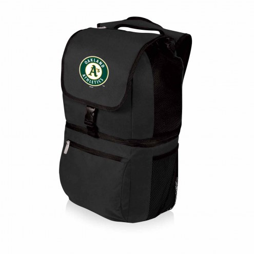 Oakland Athletics Black Zuma Cooler Backpack