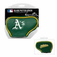 Oakland Athletics Blade Putter Headcover