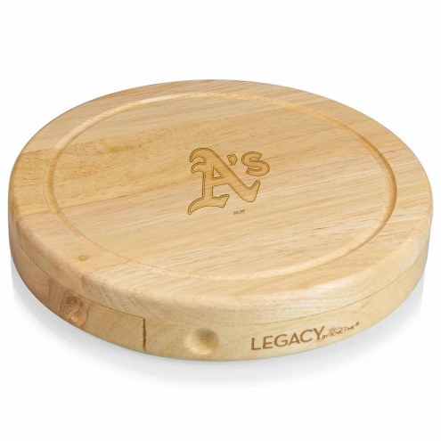 Oakland Athletics Brie Cheese Board
