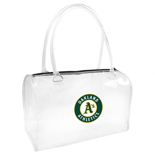 Oakland Athletics Clear Bowler