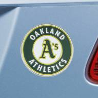 Oakland Athletics Color Car Emblem