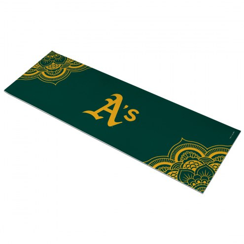 Oakland Athletics Color Yoga Mat