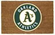 Oakland Athletics Colored Logo Door Mat