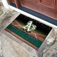 Oakland Athletics Crumb Rubber Door Mat