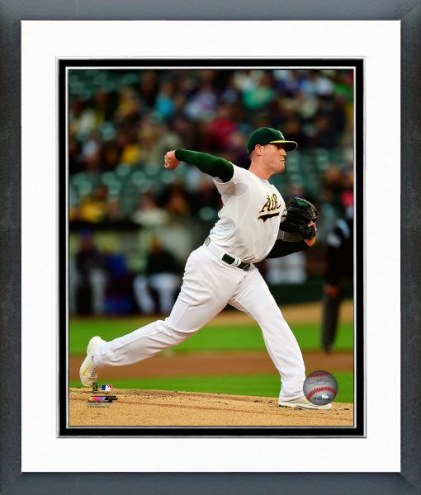 Oakland Athletics Dan Straily Action Framed Photo