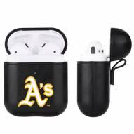 Oakland Athletics Apple Air Pod Leatherette