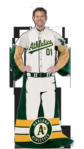 Oakland Athletics Full Body Comfy Throw Blanket