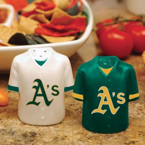 Oakland Athletics Gameday Salt and Pepper Shakers