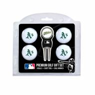 Oakland Athletics Golf Ball Gift Set