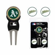 Oakland Athletics Golf Divot Tool Pack