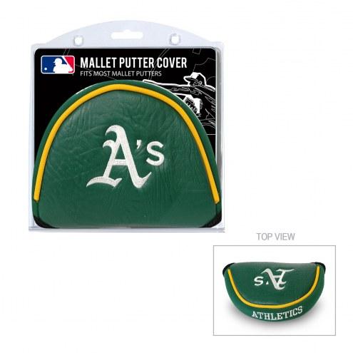 Oakland Athletics Golf Mallet Putter Cover