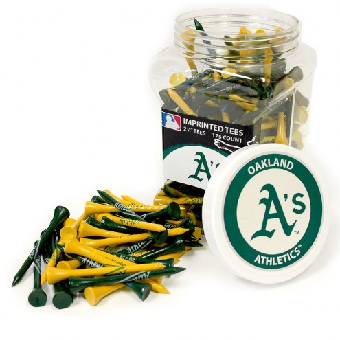 Oakland Athletics 175 Golf Tee Jar