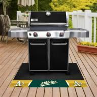 Oakland Athletics Grill Mat