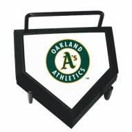 Oakland Athletics Home Plate Coaster Set